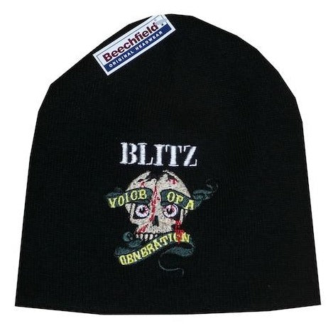 Blitz - Voice of a Generation - Embroidered Beanie
