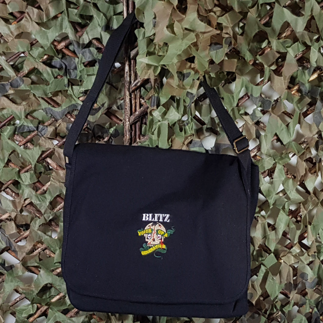 Blitz - Voice Of A Generation - Canvas Messenger Bag