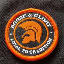 Booze & Glory - Flat Cap with Embroidered Patch