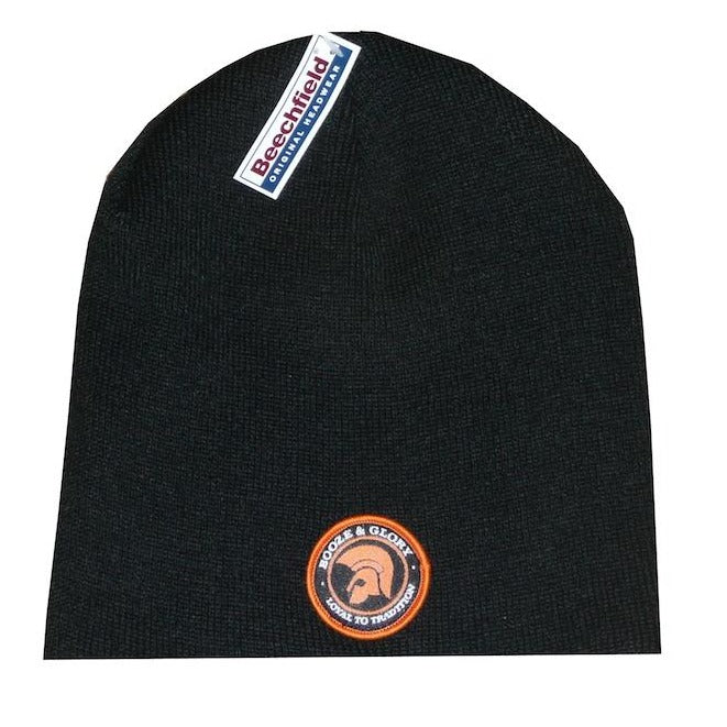 Booze & Glory - Beanie - with embroidered patch