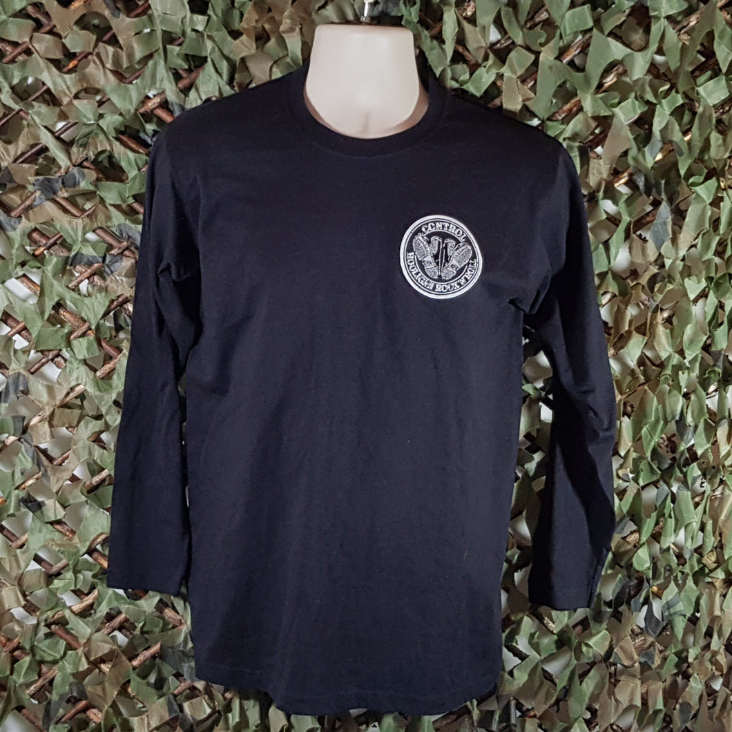 Control - Long sleeve T-Shirt with Embroidered Patch