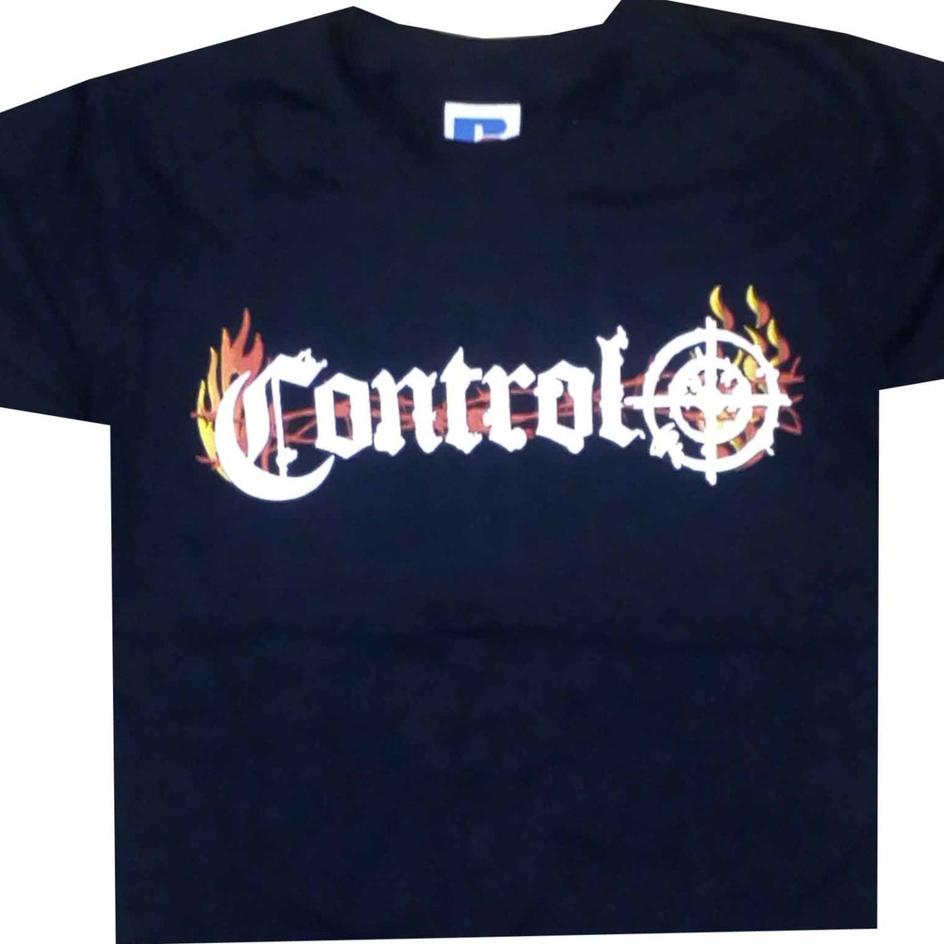 Control Fire Logo Ladies T-shirt