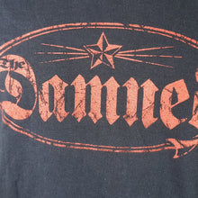 The Damned - Men's Black Tee with Red Logo