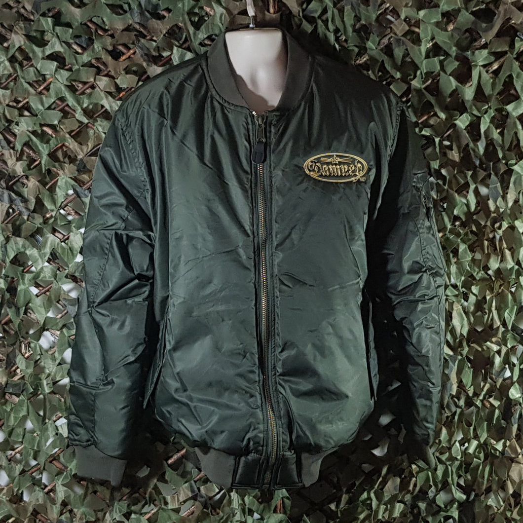The Damned  - Embroidered Flight Jacket