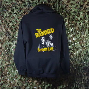 The Damned - Zip Hoodie w/ Front & Back Embroidery