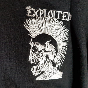 The Exploited - Hoodie with Front Embroidery only