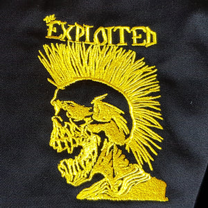 The Exploited - Monkey Jacket with Embroidered Skull Logo