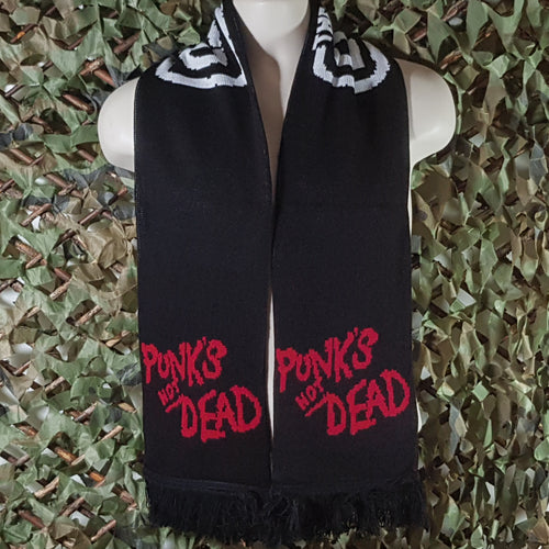 The Exploited - Punks Not Dead - Scarf