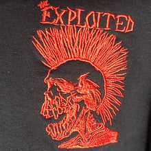 The Exploited - Long Sleeve T-Shirt with Embroidered Logo