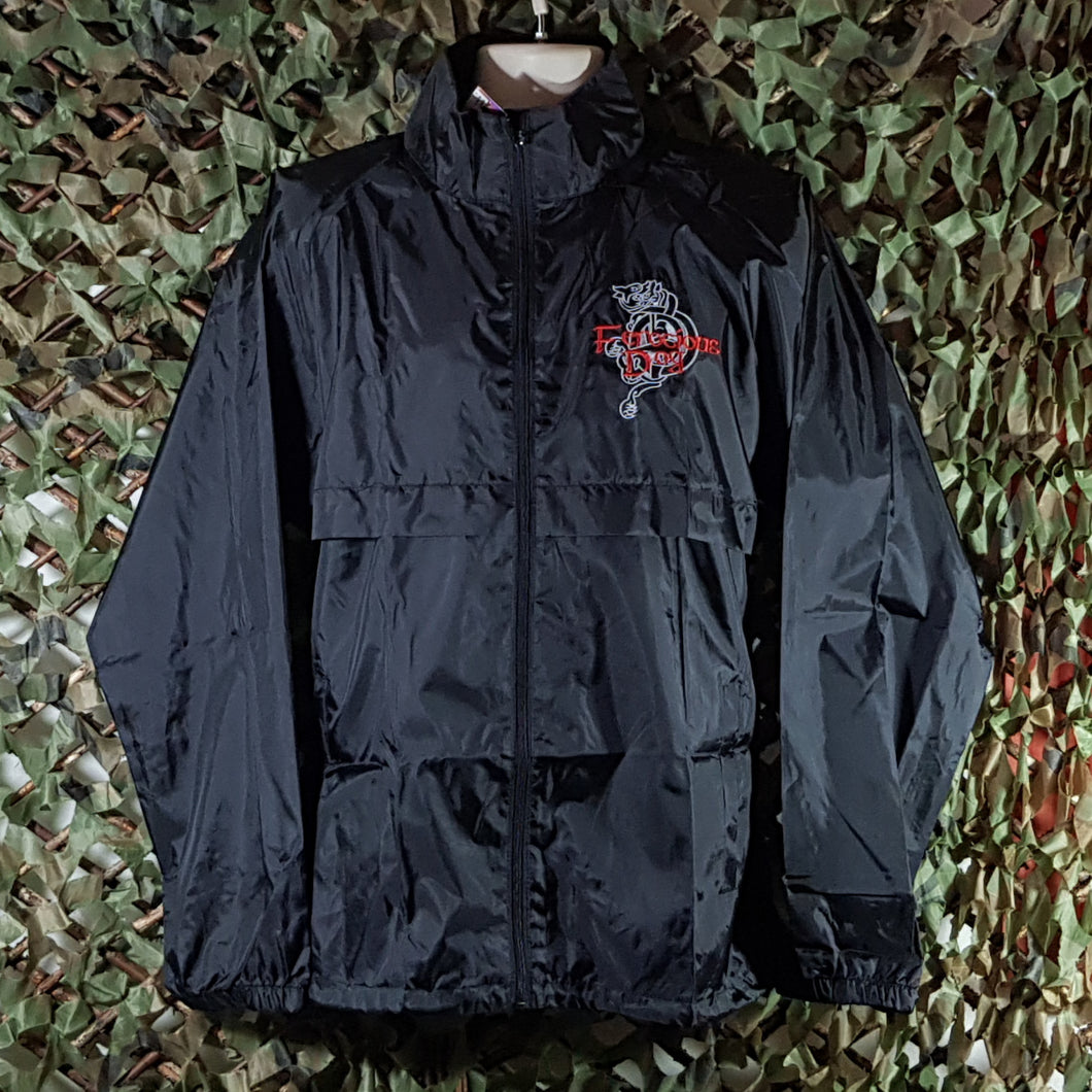 Ferocious Dog - Rain Jacket w/ embroidery
