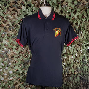 Infa Riot - Classic Logo - Embroidered Men's Polo