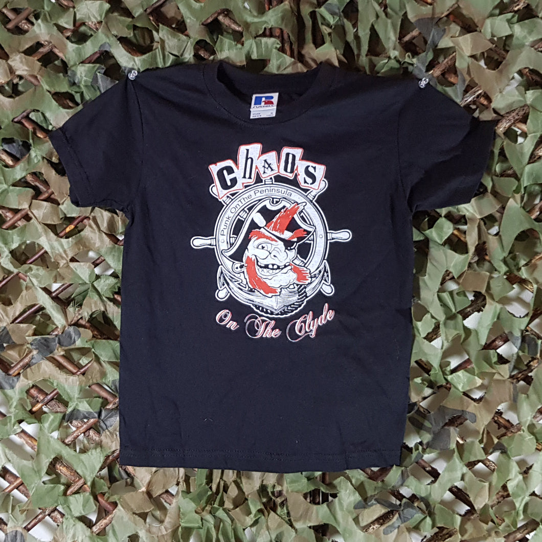 Chaos on the Clyde - Kids Black Tee
