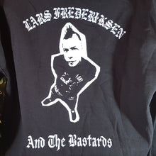 Lars Frederiksen & The Bastards - Hoodie With Embroidered Front/printed back