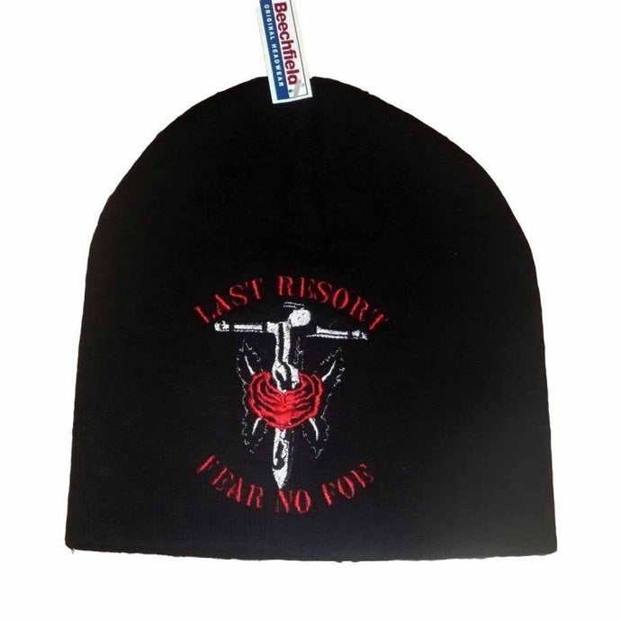 The Last Resort - Fear No Foe - Embroidered Beanie