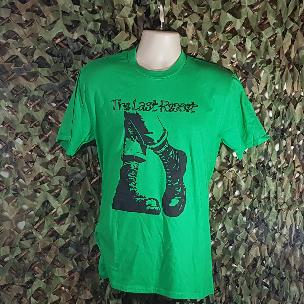 The Last Resort - Boots - Green Men's T-Shirt