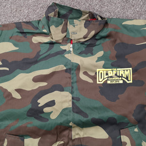 The Old Firm Casuals - Camouflage - Embroidered - Harrington Jacket