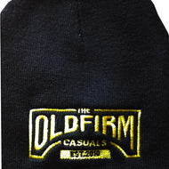 The Old Firm Casuals - Logo - Yellow Stitch - Embroidered Beanie