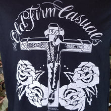 The Old Firm Casuals - Crucified Skin - Men's Black Tee