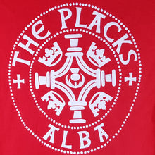 The Placks - Women's Red Logo Tee