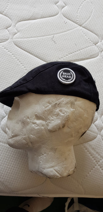 Skinhead Flatcap - with embroidered patch