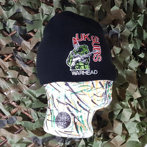 UK Subs - Warhead - Embroidered Beanie