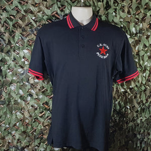 UK Subs - Red star/Punk Rock - Embroidered Men's Polo