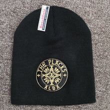 The Placks - Black Beanie w/ Gold embroidered Logo