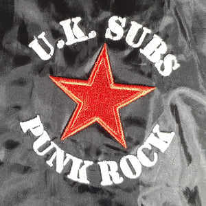 UK Subs - Logo - Embroidered Rain Jacket