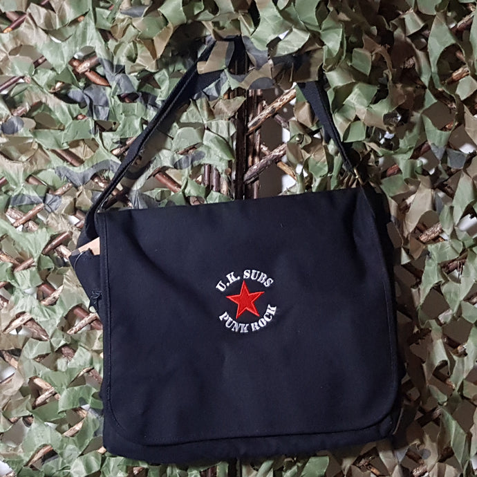 UK Subs - Canvas Messenger Bag