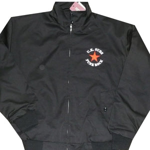 UK SUBS - Red Star - Harrington Jacket