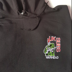 UK Subs - Warhead Hoodie w/front embroidery