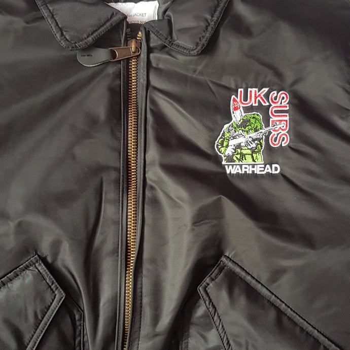 UK SUBS - Warhead - MA-2 Flight Jacket