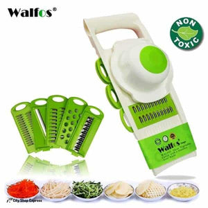 61aaa47683c2 5 in 1 Stainless Steel Blade Vegetables Cutter - City Shop Express  Online  Shopping -