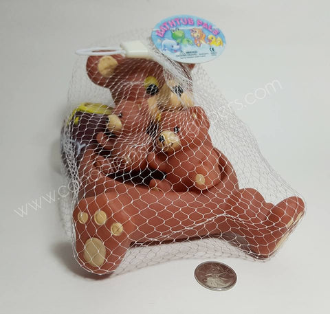 Bear Family Bath Toy Set - Canadian Sugar Gliders