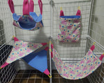 Cage Sets 4pc & 5pc- Many To Choose From - Canadian Sugar Gliders