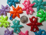 Charms Extra Large Flower Links 12 count - Canadian Sugar Gliders