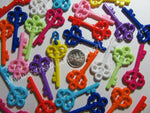 Charms Large Skeleton Keys 25 count - Canadian Sugar Gliders