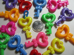 Charms Large Keys Solid 20 count - Canadian Sugar Gliders