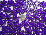 Charms Large Daisy Purple 25 count - Canadian Sugar Gliders