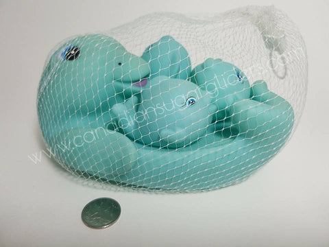 Dolphin Family Bath Toy Set - Canadian Sugar Gliders
