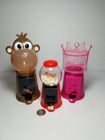 Gumball Machine Bases Monkey, Princess, Classic - Canadian Sugar Gliders