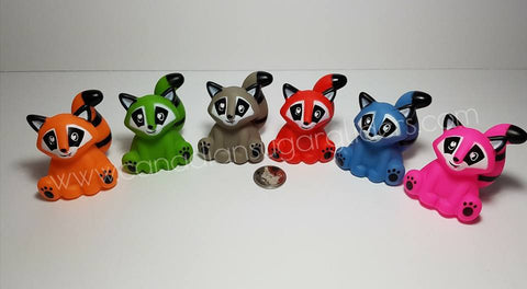 "Animal Characters Raccoons 2.5"" - Canadian Sugar Gliders"