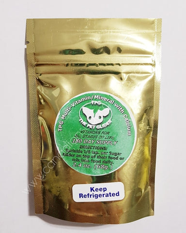 The Pet Glider Vitamin Supplement-Shipping late December/early January - Canadian Sugar Gliders