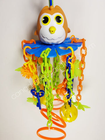 Toy Owl Pulley - Canadian Sugar Gliders