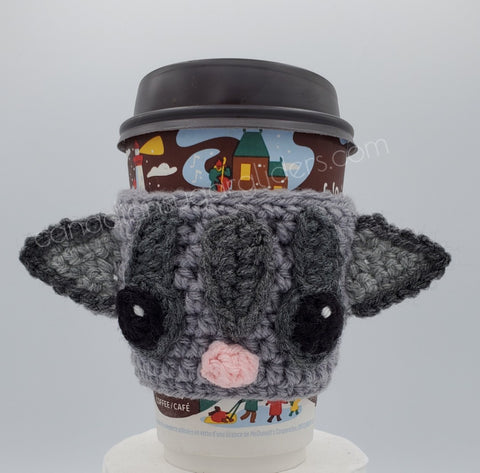 Sugar Glider Knit Coffee Cozy Coffee Sleeve