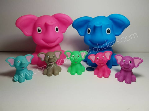 "Xtra Large Elephant Characters 6"" - Canadian Sugar Gliders"