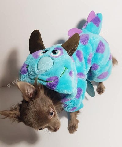 Dog Clothes Monster Onesie - Canadian Sugar Gliders