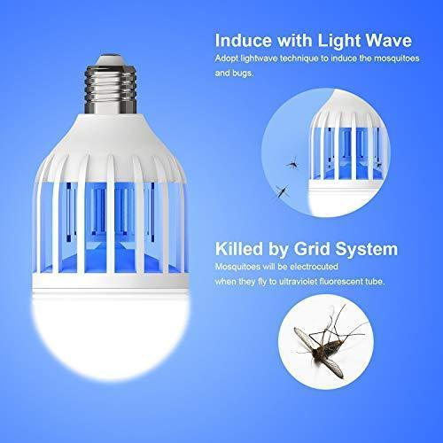 3 IN 1 LED INSECTS KILLER BULB