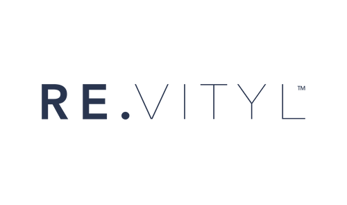 RE.VITYL trademarked logo