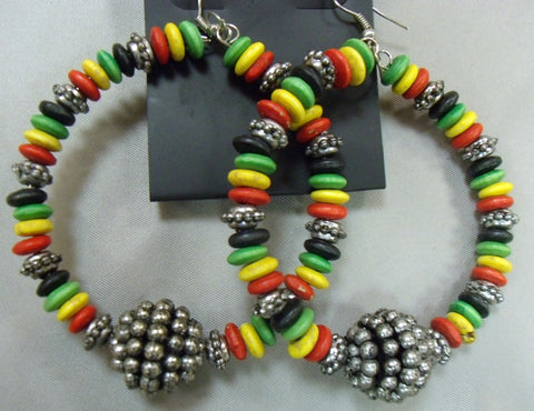 African Colors Earrings